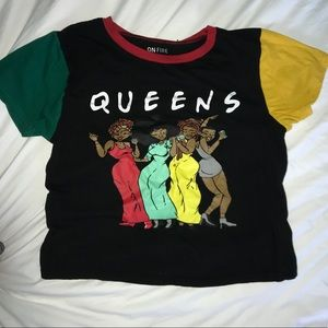 On Fire QUEENS Tee